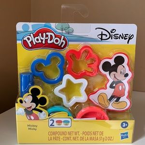 Disney Play-Doh Mickey Mouse Non-Toxic ages 3+